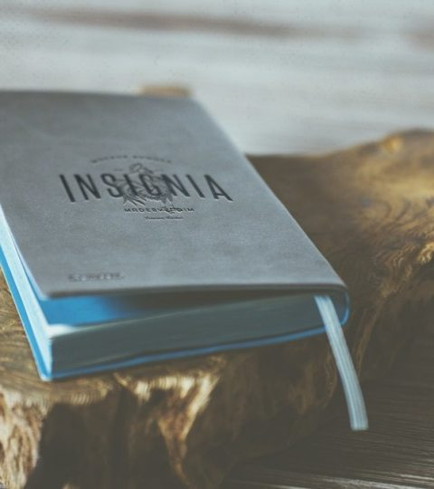 Light Blue Notebook